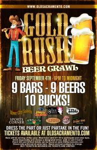 Gold Rush Beer Crawl
