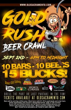 Friday: Gold Rush Beer Crawl